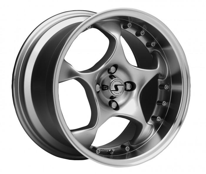 Schmidt Felgen 16 Zoll Space für VW Corrado Typ 53I, Highgloss Silber