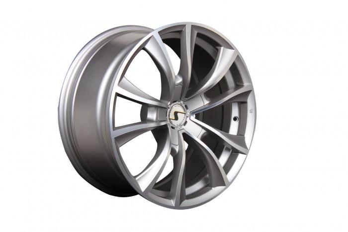 Schmidt Felgen 18 Zoll Stormer für Mercedes-Benz Vito 2 Typ 639, TitanMatt