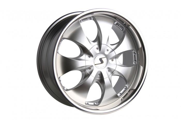 Schmidt Felgen 19 Zoll Rhino für Ford Galaxy MKIII Typ WA6, Highgloss Silber