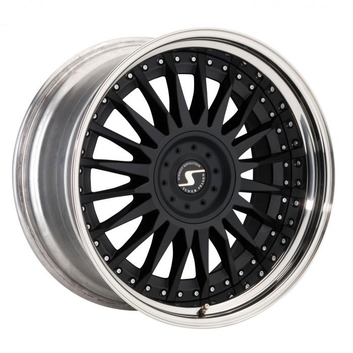 Schmidt Felgen 21 Zoll CC-Line für Bentley Continental GT MKI Typ W, SatinBlack
