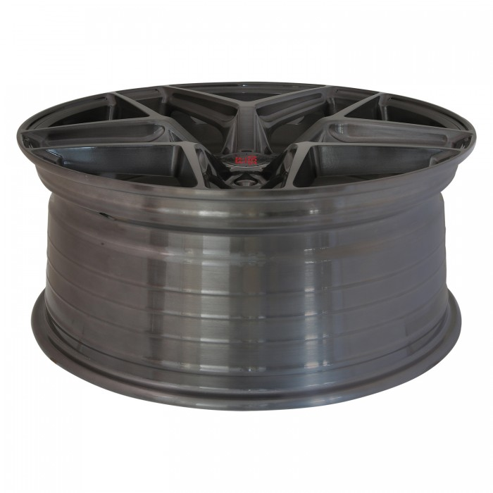 Elegance Wheels FF 550 Concave 8,5x20 5x112 ET45 Liquid Brushed Metal