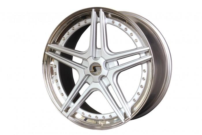 Schmidt Felgen 21 Zoll FS-Line für BMW M M550d xDrive F10/F11, Highgloss Silber