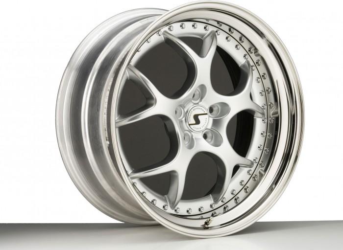 Schmidt Felgen 19/20 Zoll VN-Line für Corvette Corvette C5 Typ Y, Highgloss Silber