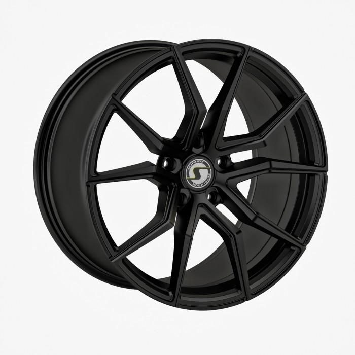 Schmidt Felgen 19 Zoll Drago für Lexus RC F Typ UXC1, SatinBlack