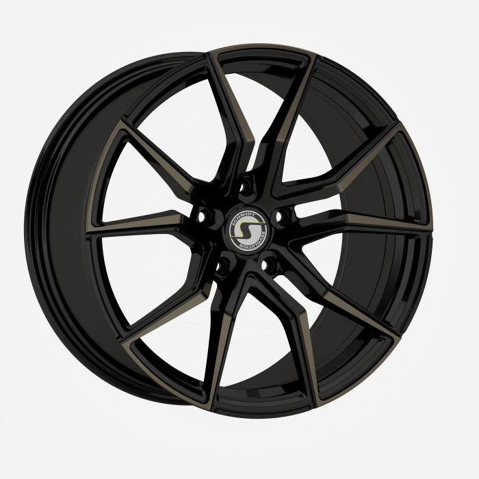 Schmidt Felgen 19 Zoll Drago für Honda CR-V MK4 RE5/RD6, HellCat Black