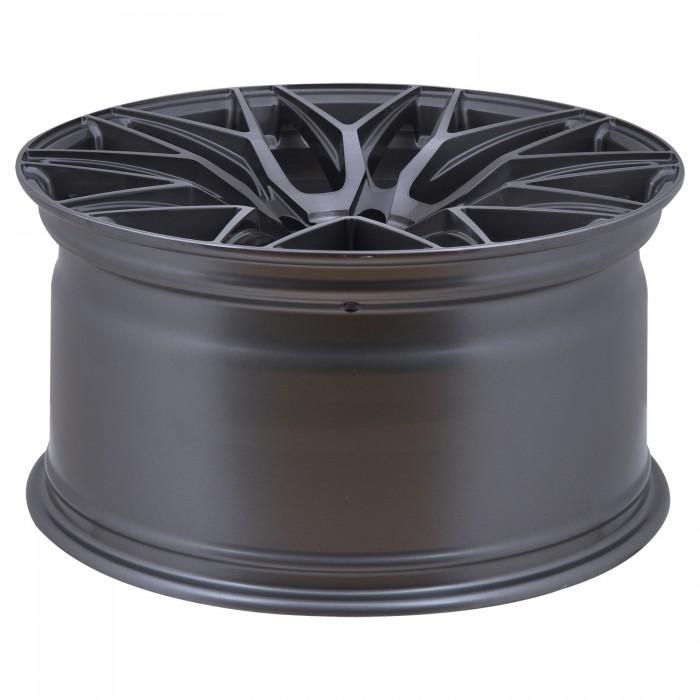 Elegance Wheels E 3 FF Deep Concave 10,5x21 5x120 ET40 Titanium brushed