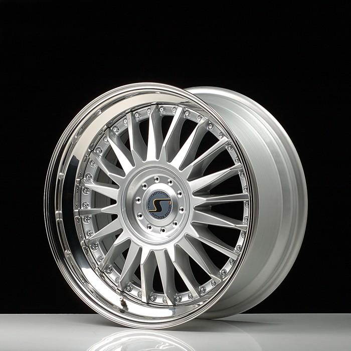Schmidt Felgen 20 Zoll CC-Line für Ferrari Maranello 550/575, Highgloss Silber