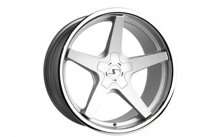 Schmidt Felgen 19 Zoll XS5 für Audi A3 Typ 8P, Highgloss Silber
