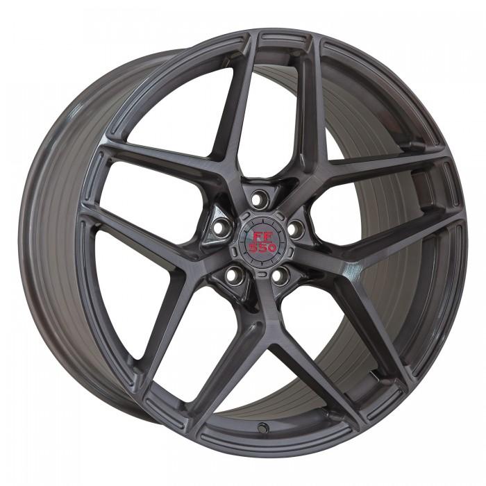 Elegance Wheels FF 550 Deep Concave 11,0x20 5x120 ET40 Liquid Brushed Metal