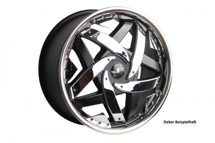 Schmidt Felgen 17 Zoll Mystic für Hyundai Lantra, SatinBlack